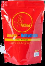 FitDog Energy + Rehydrate –energia- ja nesteytysjuomajauhe
