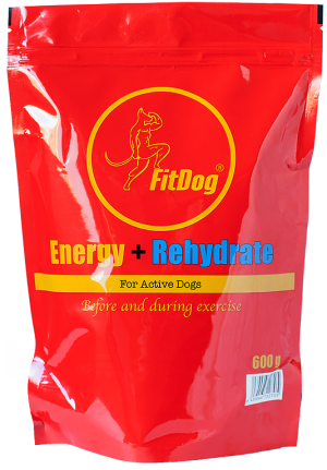FitDog Energy + Rehydrate drink powder